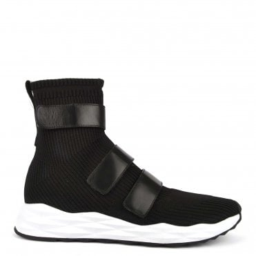 50440793c3b79 Men s Scott Black Knit Trainer. Ash Footwear ...