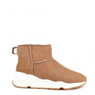 Miko Light Camel Faux Fur Lining Boot
