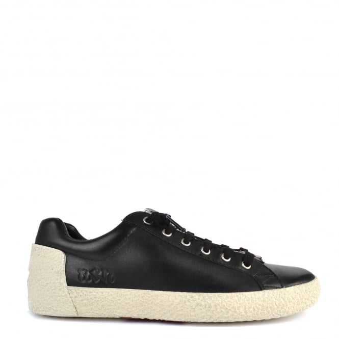 Ash Footwear Nirvana Black Leather With Zip Trainer