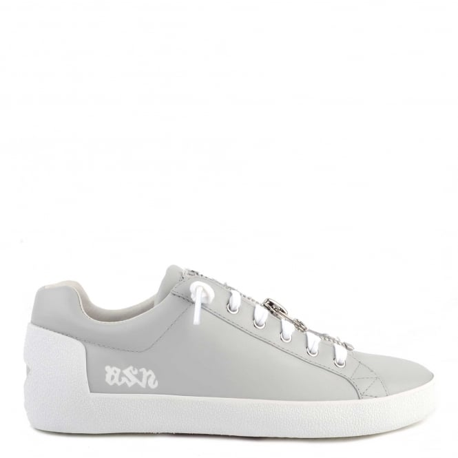 Ash Footwear Nirvana Pearl Leather With Zip Trainer