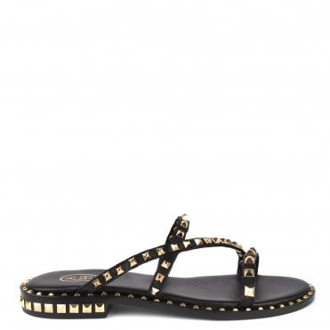 f4f0f3d09aef90 Peace Bis Black Studded Leather Sandal. Ash Footwear ...