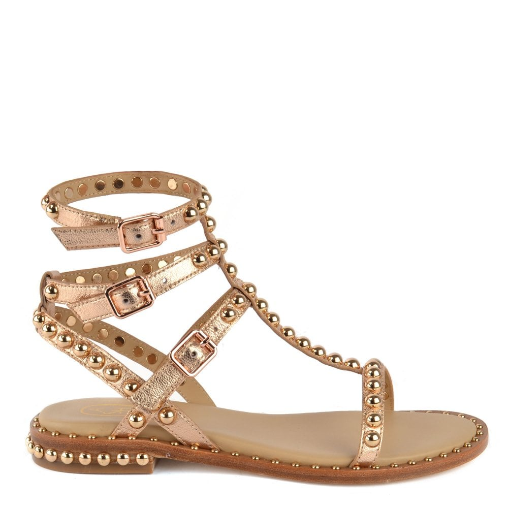 1507fa22a87f Shop The Women s Ash Play Leather Sandals On Brand Boudoir