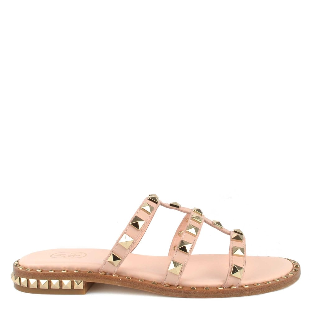 0362907c3a78 Shop The Ash POP Pink Leather Sandals From Brand Boudoir