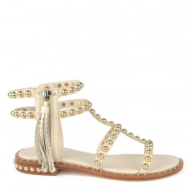 0adc8a89f65d Power Ivory Studded Leather Sandal · Ash Footwear ...
