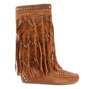 Shilo Sienna Suede Wedge Boot