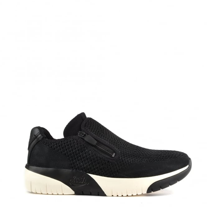 Ash Footwear Studio Knit Black Trainer
