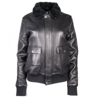 Studio Paris Vital Black Leather Jacket
