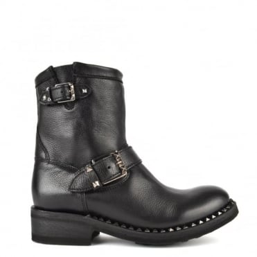 Truth Black Biker Boot