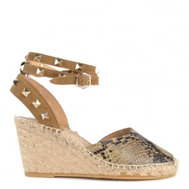 Winona Desert and Wilde Wedge Sandal