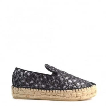 Xem Black and Piombo Espadrille