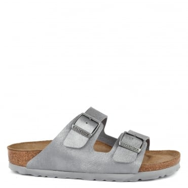 Arizona Animal Fascination Grey Two Strap Sandal
