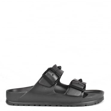 Arizona Anthracite Studded Rubber Thong Sandal
