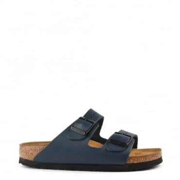 Arizona Blue Leather Two Strap Sandal