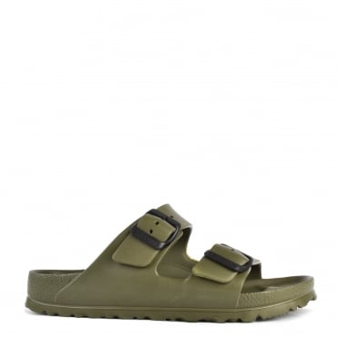 Arizona Khaki Rubber Two Strap Sandal