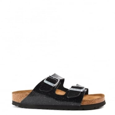 Arizona Magic Galaxy Black Two Strap Sandal
