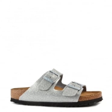 Arizona Magic Galaxy Silver Two Strap Sandal