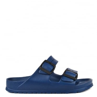 Arizona Navy Rubber Two Strap Sandal