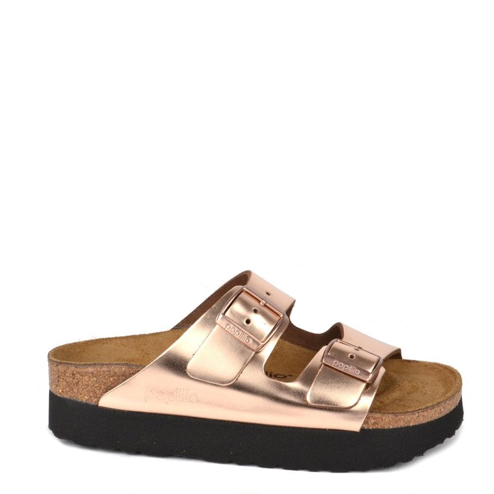 Papillio Sandal Copper Arizona Metallic Platform IYWDHE29