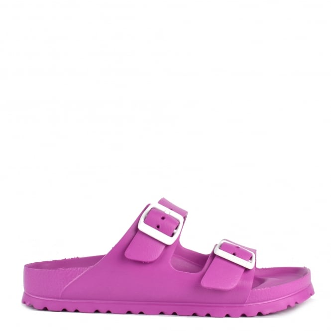 Birkenstock Arizona Rose Rubber Two Strap Sandal