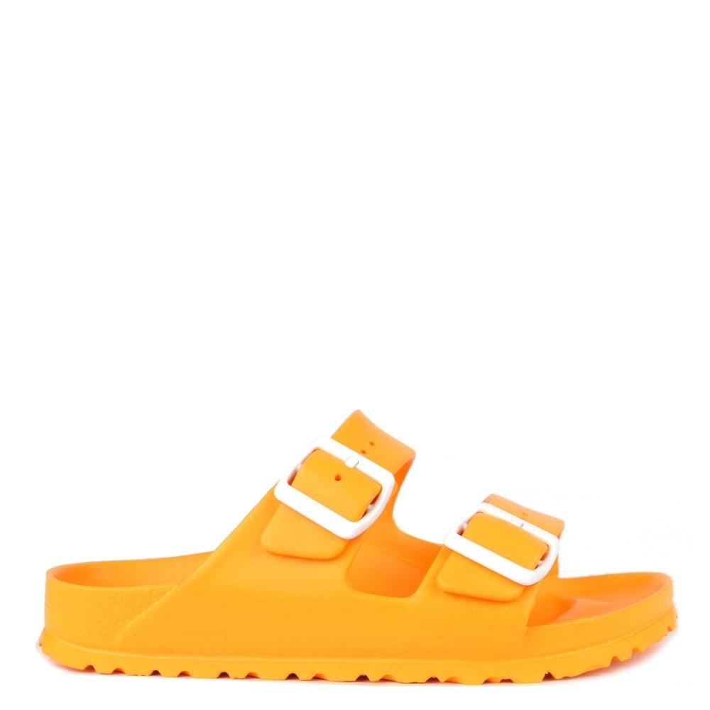 yellow two strap birkenstocks Shop