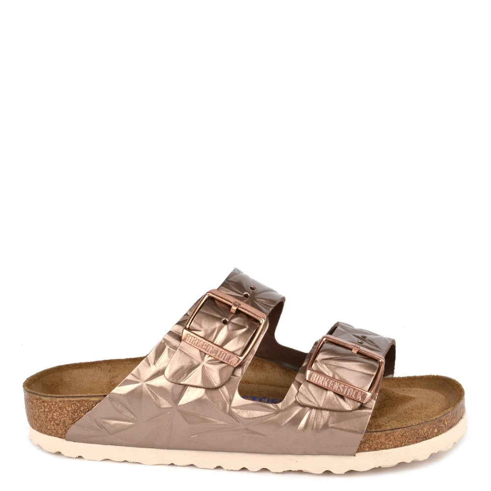 5194da658adf Birkenstock Arizona Spectral Copper Soft Footbed Two Strap Sandal