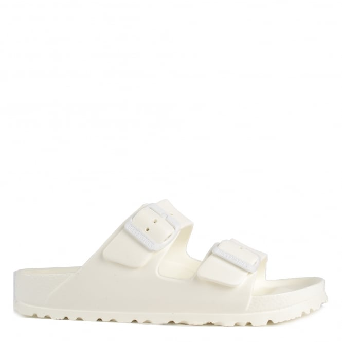 Birkenstock Arizona White Rubber Two Strap Sandal