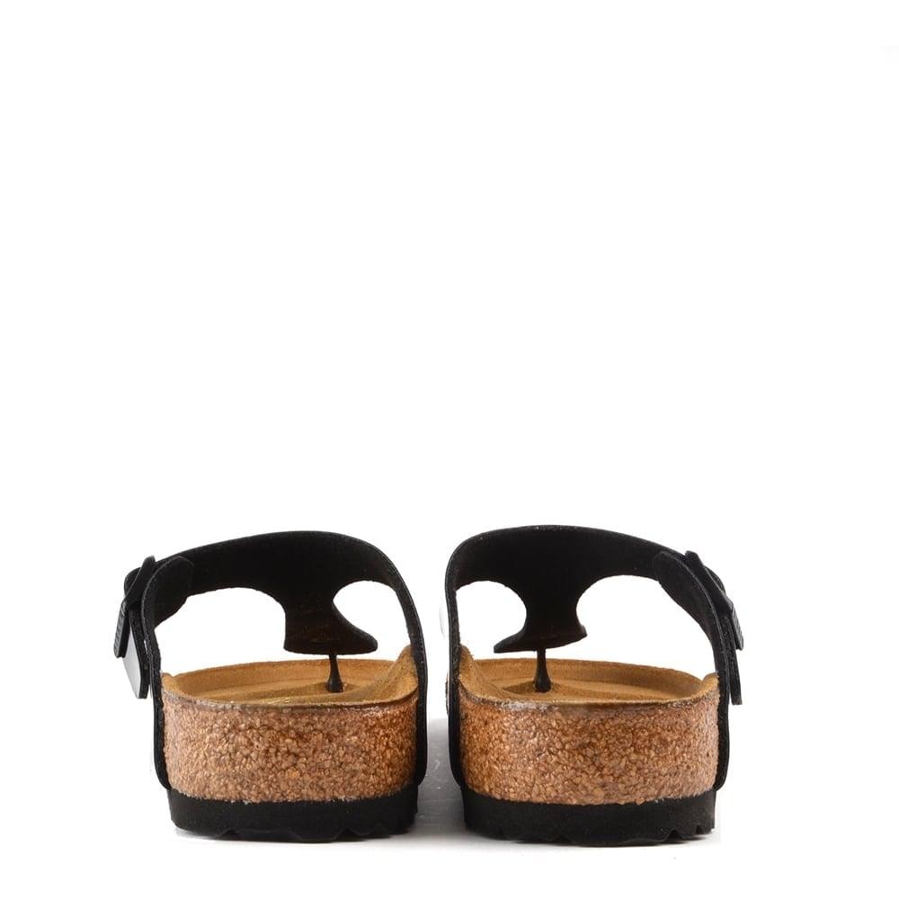 ccdfe1bd6116 Birkenstock Gizeh Black Patent Thong Sandal