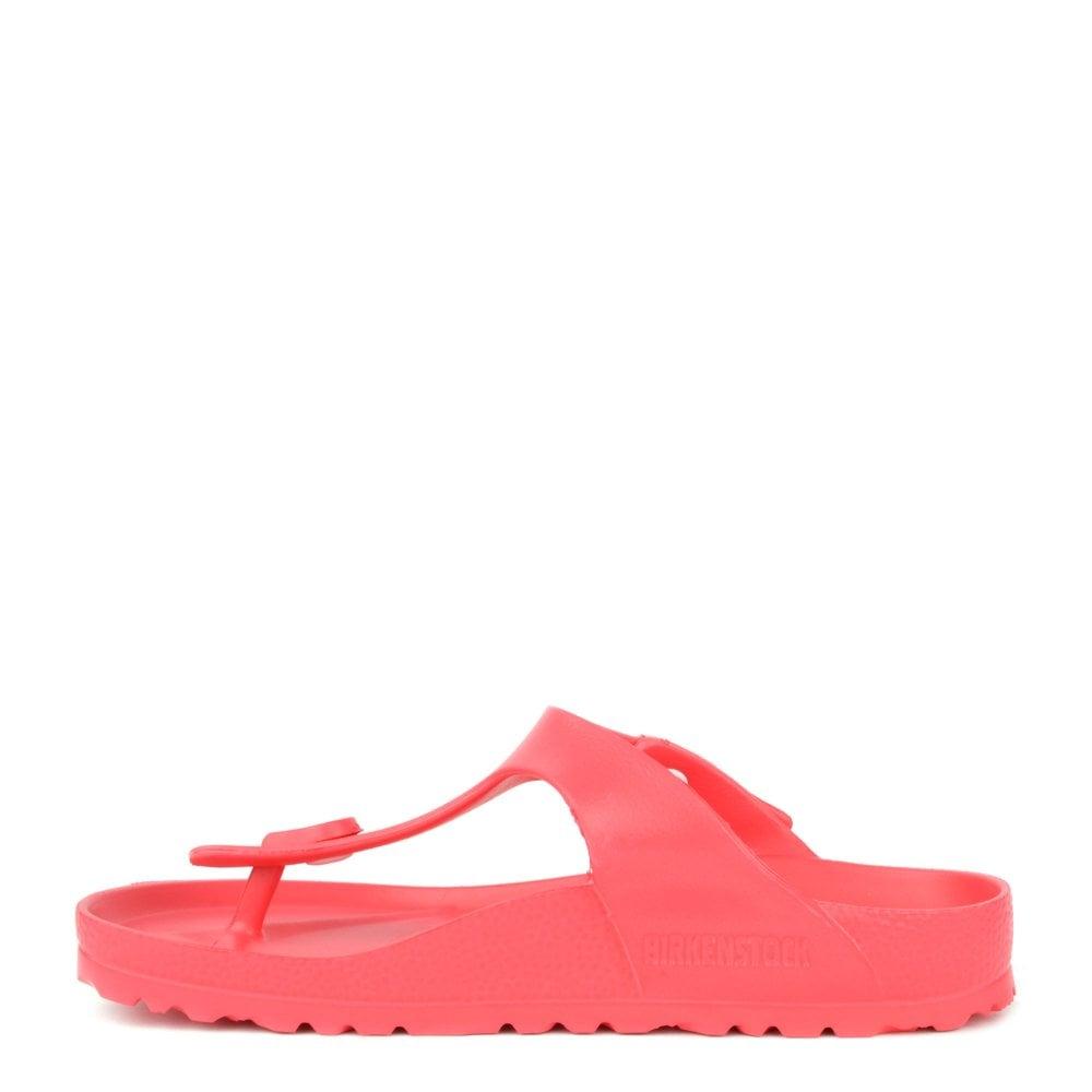 fcc496830c06 Birkenstock Gizeh Coral Rubber Thong Sandal