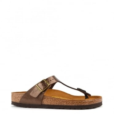 Gizeh Graceful Toffee Thong Sandal