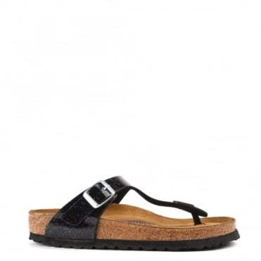 Gizeh Magic Galaxy Black Thong Sandal