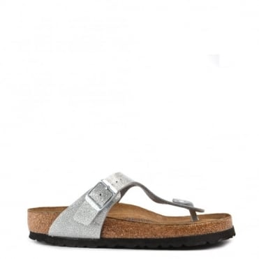Gizeh Magic Galaxy Silver Thong Sandal