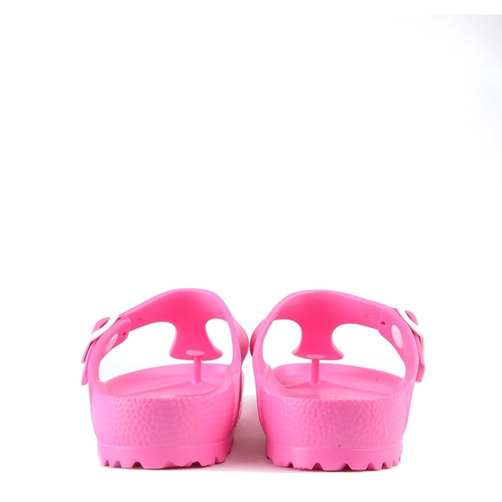 Ongekend Birkenstock Gizeh Neon Pink Rubber Thong Sandal PA-92
