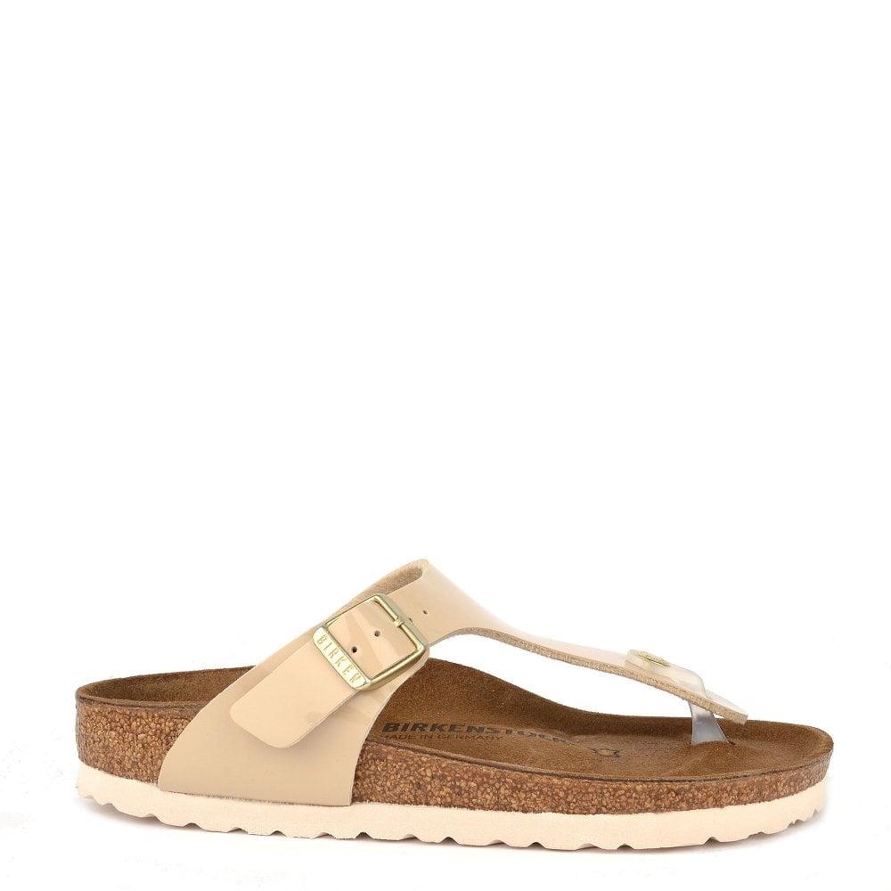 a2bfb071b Birkenstock Gizeh Sand Patent Thong Sandal