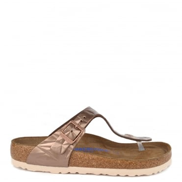 Gizeh Spectral Copper Soft Footbed Thong Sandal