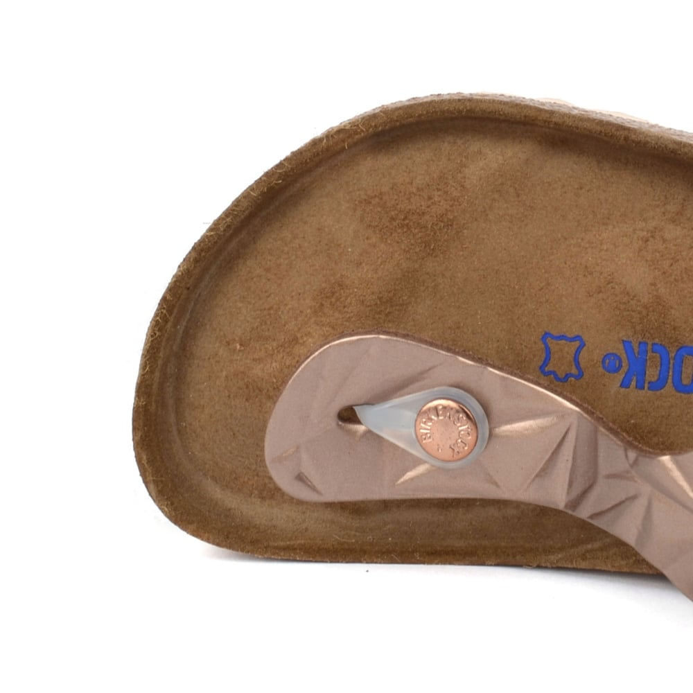 3e0bffeccf0 Birkenstock Gizeh Spectral Copper Soft Footbed Thong Sandal