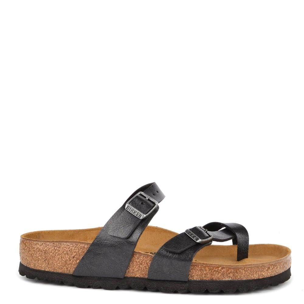 ec113d86c19 Birkenstock Mayari Licorice Cross Strap Sandal
