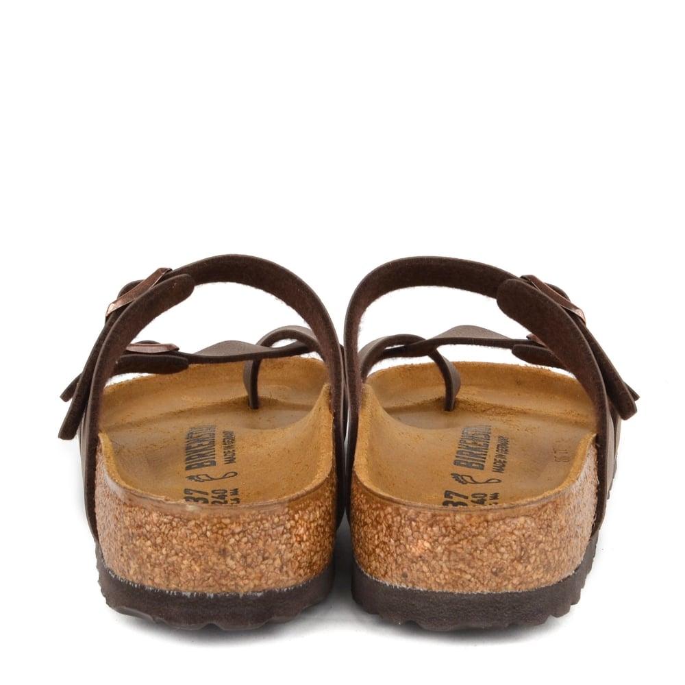 3591779c487 Birkenstock Mayari Mocha Cross Strap Sandal