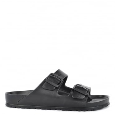 Mens' Arizona Black EVA Two Strap Sandal