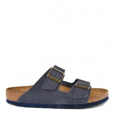 Mens' Arizona Steer Indigo Two Strap Sandal
