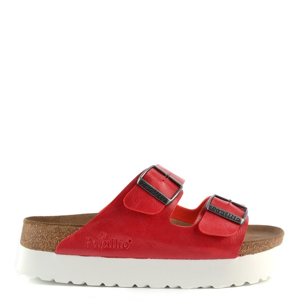 papillio arizona red platform sandal at brand boudoir. Black Bedroom Furniture Sets. Home Design Ideas