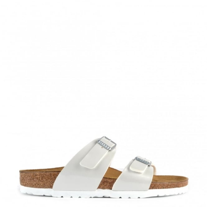 Birkenstock Sydney Pearly White Two Strap Sandal
