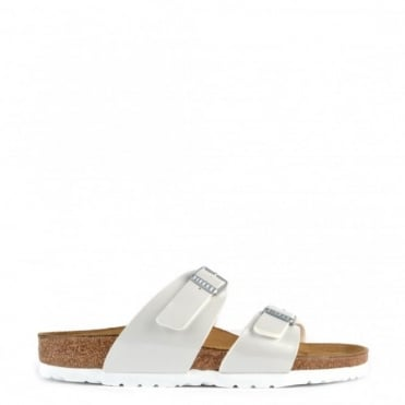 Sydney Pearly White Two Strap Sandal