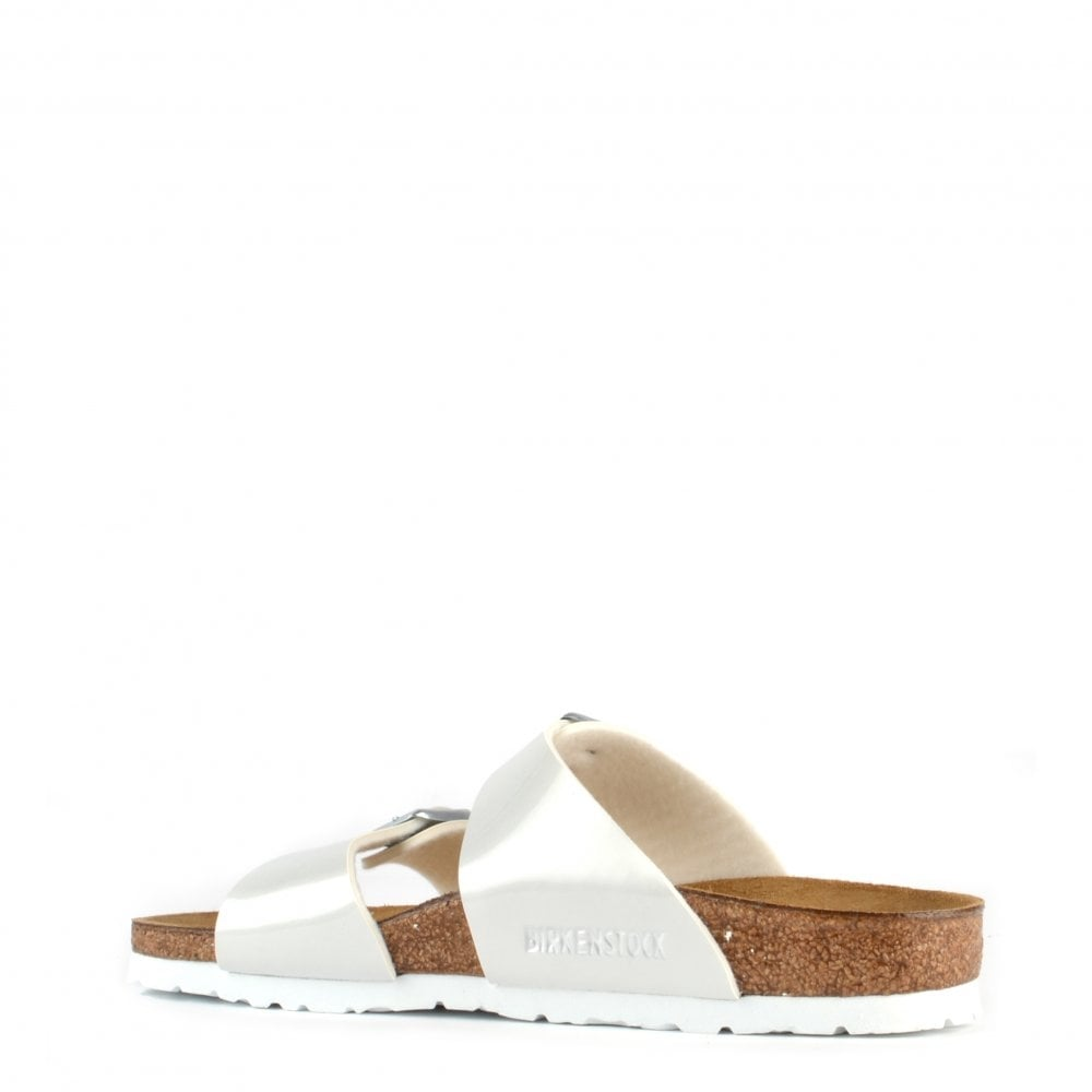 bb8caceee20 Sydney Pearly White Two Strap Sandal at Brand Boudoir