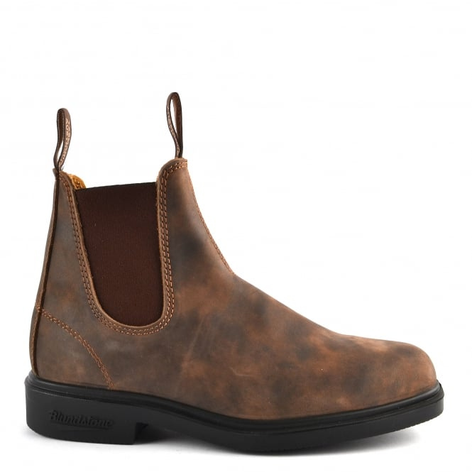 Blundstone Mens' 1306 Rustic Brown Leather Boot