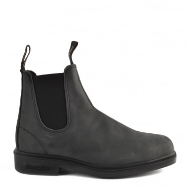 Mens' 1308 Rustic Black Premium Leather Boot