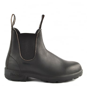 Unisex 510 Black Premium Leather Boot