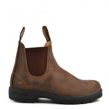 Unisex 585 Classic Comfort Rustic Brown Leather Boot