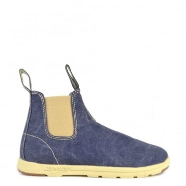 Womens 1422 Canvas Blue Denim Boot