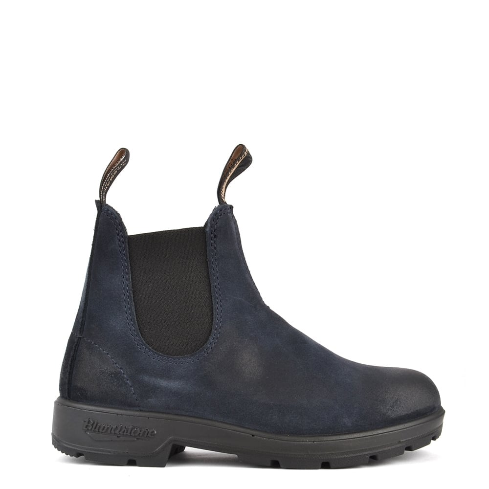 blundstone womens 1462 classic indigo blue suede boot