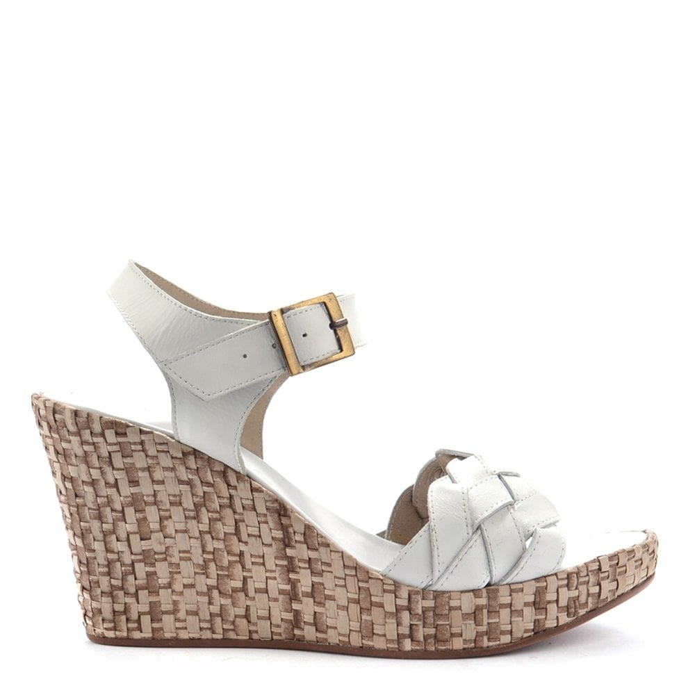 huge selection of c1932 83548 campo-dei-fiori-white-leather-wedge-sandal-p1874-37902 image.jpg